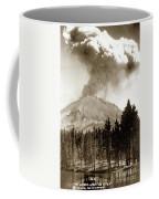 Mt. Lassen In Eruption Oct. 6, 1915 Coffee Mug