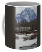 Mt Moran From Cattleman's Bridge Site Coffee Mug