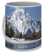 Mt Moran From Oxbow Bend Coffee Mug