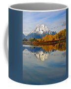 Mt Moran From The Ox Bow Coffee Mug