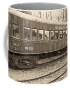 Mt. Rainier Dining Car Coffee Mug