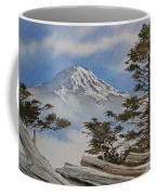 Mt. Rainier Landscape Coffee Mug