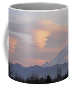 Mt Rainier Lenticular Funnels Coffee Mug
