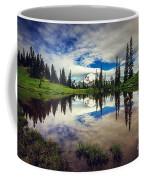 Mt Rainier Reflections Coffee Mug
