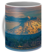Mt Rainier Sunset Coffee Mug