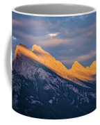 Mt Rundle Sunset Banff Coffee Mug