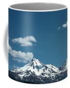 Mt Shasta With Heart-shaped Cloud Coffee Mug