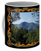 Mt Tamalpais Framed 1 Coffee Mug