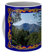 Mt Tamalpais Framed 2 Coffee Mug
