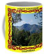Mt Tamalpais Framed 4 Coffee Mug