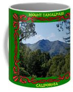 Mt Tamalpais Framed 5 Coffee Mug