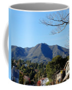 Mt Tamalpais View From Mill Valley Coffee Mug
