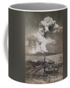 Mt. Vesuvius Erupting Coffee Mug