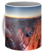 Mt Whitney And Pinnacles Sunrise - John Muir Trail Coffee Mug