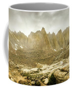 Mt Whitney Sierra Basecamp Coffee Mug