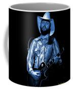 Mtb77#50 Enhanced In Blue Coffee Mug