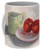 Mugging For Apples Coffee Mug