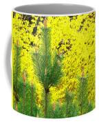 Mugo Pine And Forsythia Coffee Mug