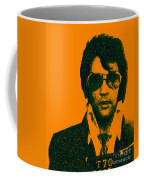 Mugshot Elvis Presley Coffee Mug