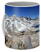 Muir Pass Panorama From High Above - John Muir Trail Coffee Mug