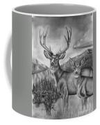 Mule Deer Heaven Coffee Mug
