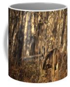 Mule Deer In Aspen Thicket Coffee Mug