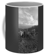 Mule Drawn Wagon Coffee Mug