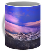 Mulhacen And Alcazaba At Sunset Coffee Mug