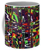 Multi Color Abstract Coffee Mug