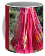 Multi-color Pink Skirt. Ameynra Design Coffee Mug
