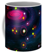 Multi-colored Constellation  Coffee Mug