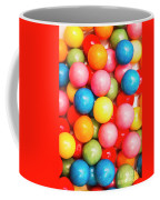 Multi Colored Gumballs. Sweets Background Coffee Mug