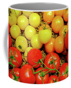 Multi Colored Tomatoes Coffee Mug