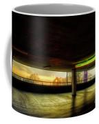 Multi-storey Sunset Coffee Mug