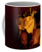 Multicolored Roses Wilting  Coffee Mug