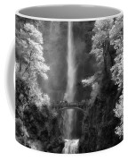 Multnomah Falls Bw Coffee Mug