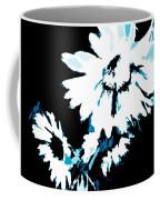 Mums In Abstract Coffee Mug