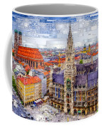 Munich Cityscape Coffee Mug