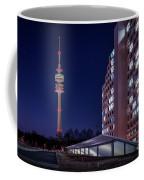 Munich - Olympictower And Village Coffee Mug
