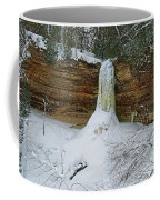 Munising Falls Frozen Coffee Mug