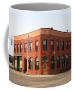 Munising Michigan City Hall Coffee Mug