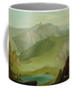 Muntiggalm Ber Den Seebergsee Auf Die Coffee Mug