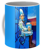 Mural Art, Futuristic  Coffee Mug
