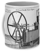 Murrays Portable Steam Engine, 19th Coffee Mug