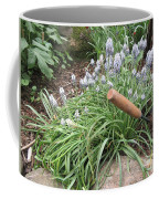 Muscari Blend Blue And White Coffee Mug