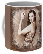 Muscle And Strength Pinup Poster Girl Coffee Mug