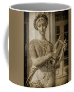 Achilleion, Corfu, Greece - The Muse Terpsichore Coffee Mug