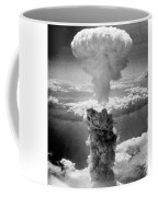 Mushroom Cloud Over Nagasaki  Coffee Mug