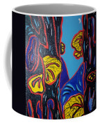 Mushroom On Trees Coffee Mug