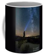 Mushroom Rocks Phenomenon Under The Night Sky Coffee Mug